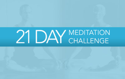 The 21 Day Meditation Challenge